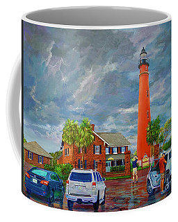 Lightning And The Light Coffee Mug