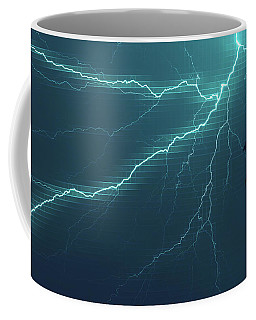 Lightning Grid Coffee Mug
