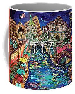 Lights On The Banks Of The River Coffee Mug