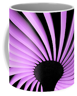 Lilac Fan Ceiling Coffee Mug