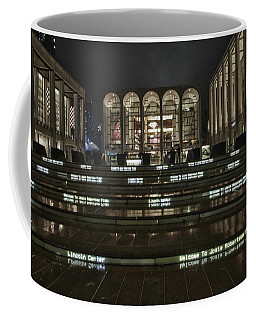 Lincoln Center For The Performing Arts Coffee Mug