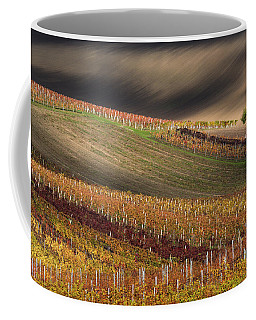 Line And Wine 1 Coffee Mug