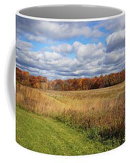Line Of Autumnal Grace Coffee Mug