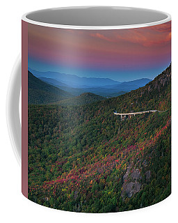 Linn Cove Pink And Blue Coffee Mug