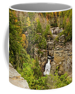 Linville Falls - Wide View Coffee Mug