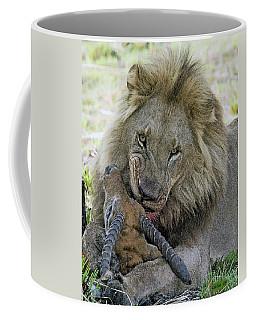 Lion Prey Coffee Mug