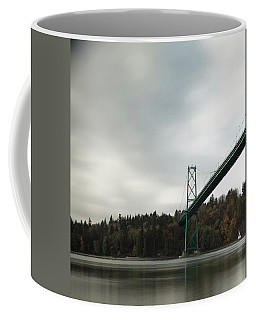 Lions Gate Bridge Vancouver Coffee Mug