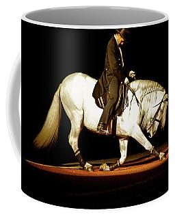 Coffee Mug featuring the photograph Lipizzan by Catherine Sobredo