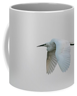 Little Egret Evening Flght Coffee Mug