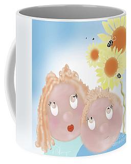 Little Ms And Bro Coffee Mug