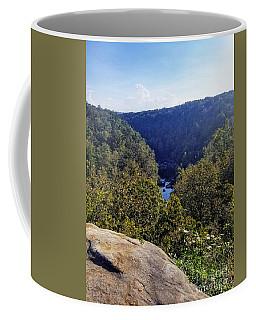 Coffee Mug featuring the photograph Little River Canyon Overlook Alabama by Rachel Hannah