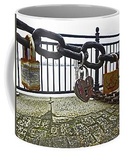 Liverpool. The Albert Dock. Eternal Love. Coffee Mug