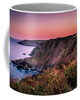 Lizard Point Sunset - Cornwall Coffee Mug