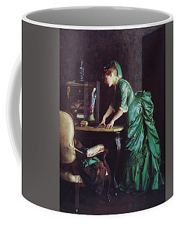 Lizzy Young In Green Coffee Mug