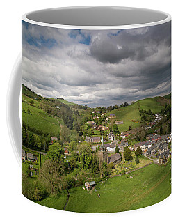 Llangurig From The Air Coffee Mug
