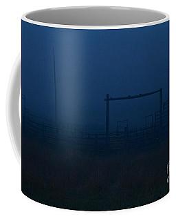 Coffee Mug featuring the photograph Loading Chute by Ann E Robson
