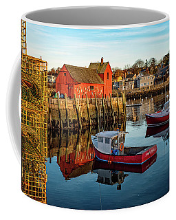 Lobster Traps, Lobster Boats, And Motif #1 Coffee Mug