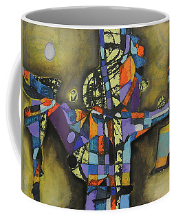 Coffee Mug featuring the painting Local Resonance by Mark Jordan