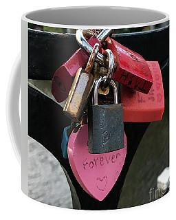 Lock Up Your Love Coffee Mug
