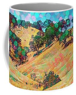 Coffee Mug featuring the digital art Lollipop Bokeh by Mike Braun