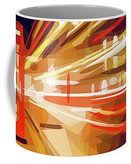 Coffee Mug featuring the digital art London Phone Box by ISAW Company