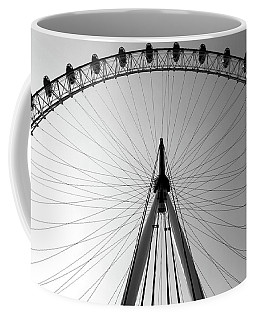 Coffee Mug featuring the photograph London_eye_i by Mark Shoolery