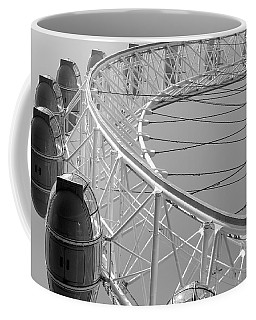 Coffee Mug featuring the photograph London_eye_ii by Mark Shoolery