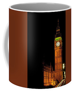 London's Big Ben At Night Coffee Mug
