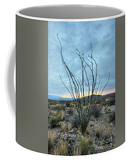 Lone Bush - Sunrise Coffee Mug