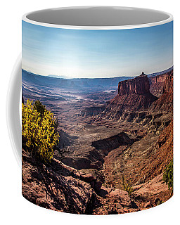 Coffee Mug featuring the photograph Lonely Butte by David Morefield