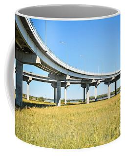 Long Concrete Bridge  Coffee Mug