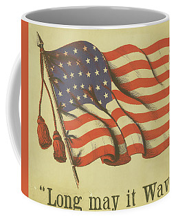 Long May It Wave Coffee Mug