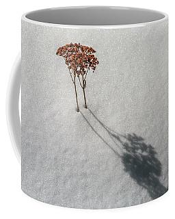 Long Shadow Of Winter Coffee Mug