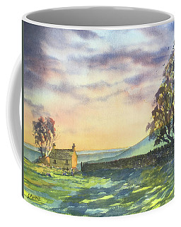 Long Shadows At Sunset Coffee Mug