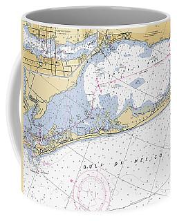 Longboat Ket Florida Noaa Nautical Chart Coffee Mug