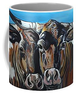 Longhorns, Interrupted Coffee Mug