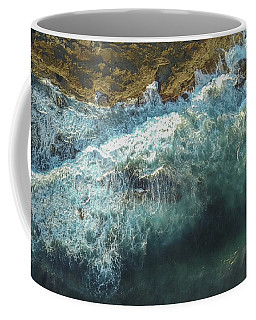 Coffee Mug featuring the photograph Longreef Waves by Chris Cousins
