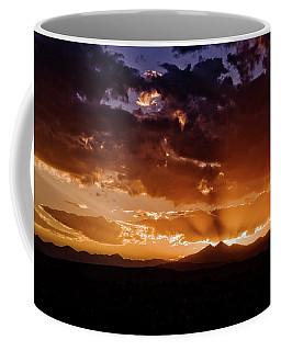 Longs Peak Sunset Coffee Mug