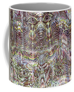 Looking Through Coffee Mug