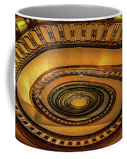 Looking Up The Ponce Stairway Atlanta Georgia Coffee Mug