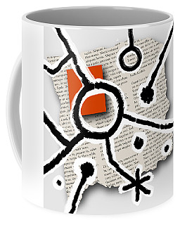 Coffee Mug featuring the photograph Lorem Ipsum 2 by Mark Shoolery