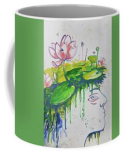 Lotus Head Coffee Mug