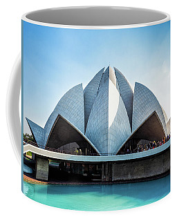 Lotus Temple Coffee Mug