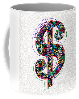 Louis Vuitton Dollar Sign-1 Coffee Mug