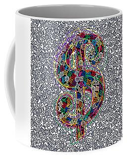 Louis Vuitton Dollar Sign-5 Coffee Mug
