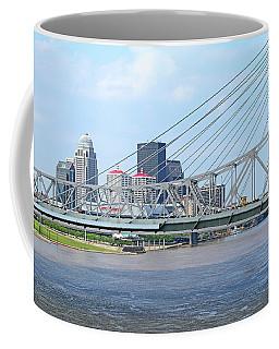 Louisville Across The River Coffee Mug