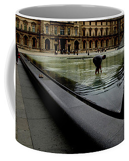 Louvre, Water Coffee Mug