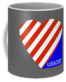 Love Ubabe America Coffee Mug