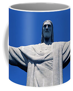 Low Angle View Of The Christ Coffee Mug