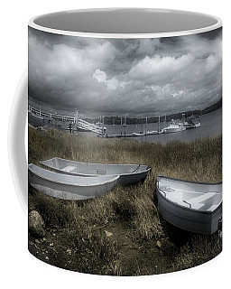 Low Tide Grasses Coffee Mug